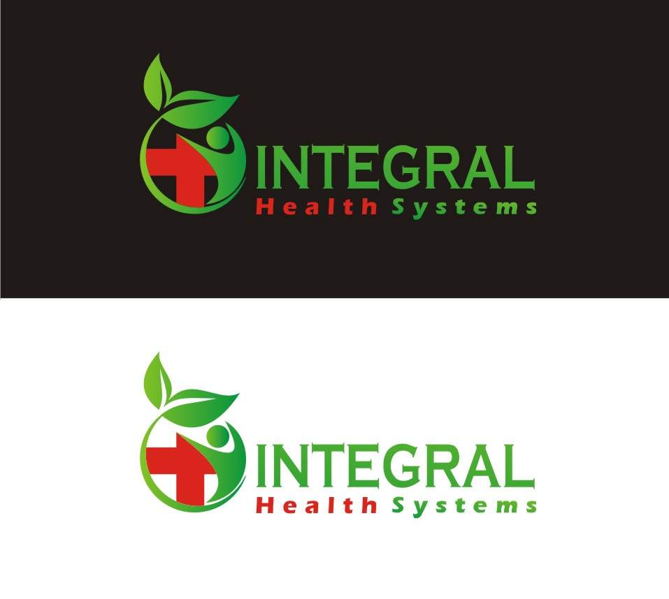 Logo Design by Yuda Hermawan - Entry No. 7 in the Logo Design Contest Unique Logo Design Wanted for Integral Health Systems.