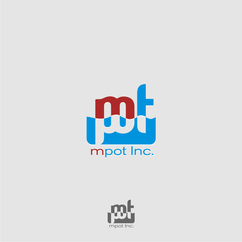 Logo Design by graphicleaf - Entry No. 107 in the Logo Design Contest Mpot inc  Logo Design.