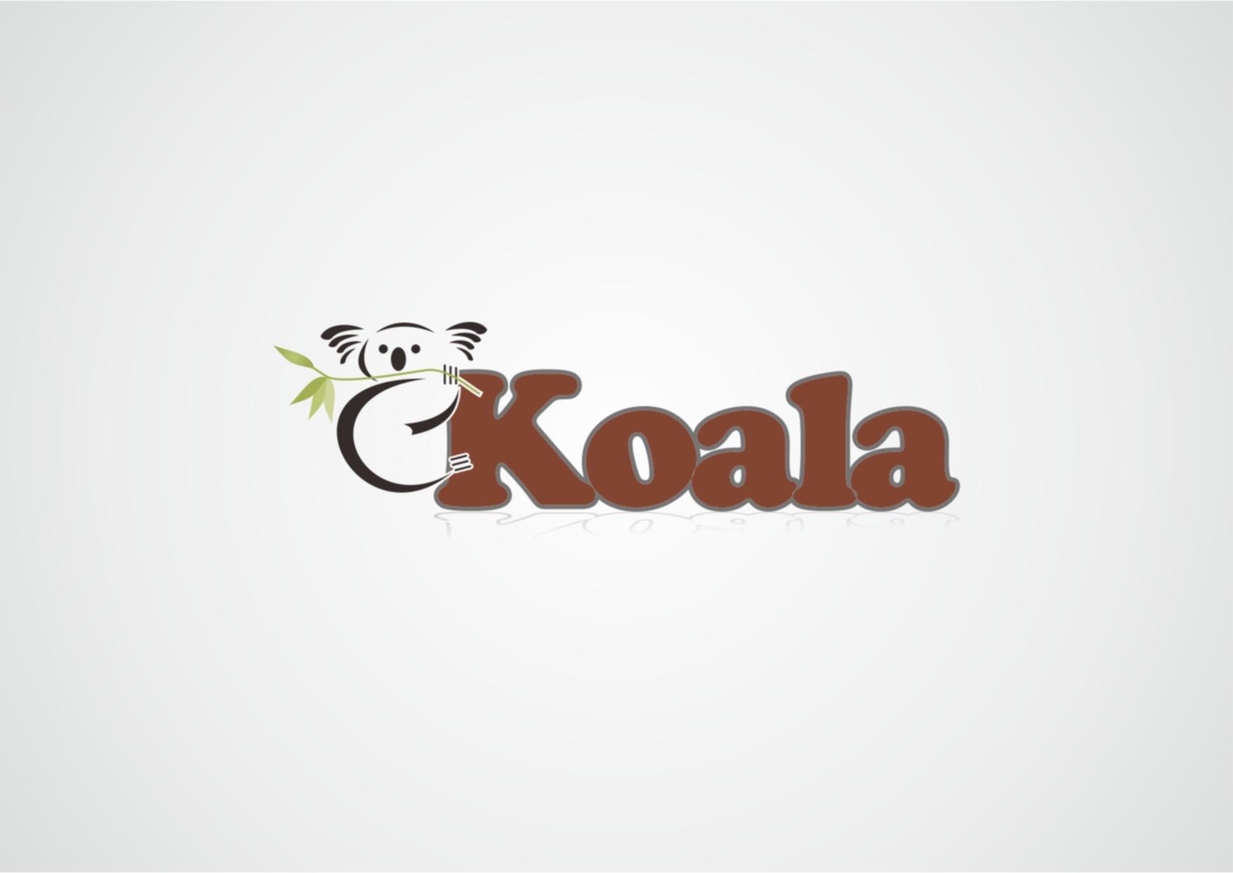 "Logo Design by Private User - Entry No. 5 in the Logo Design Contest Imaginative Logo Design for ""Koala""."