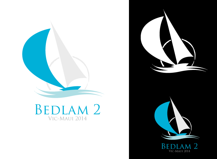 Logo Design by Jan Chua - Entry No. 3 in the Logo Design Contest Artistic Logo Design for Bedlam 2  Vic-Maui 2014.