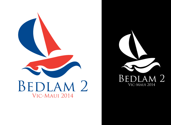 Logo Design by Jan Chua - Entry No. 4 in the Logo Design Contest Artistic Logo Design for Bedlam 2  Vic-Maui 2014.