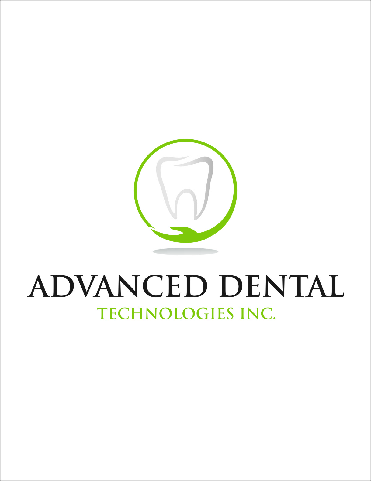 Logo Design by RasYa Muhammad Athaya - Entry No. 74 in the Logo Design Contest Fun Logo Design for Advanced Dental Technologies Inc..