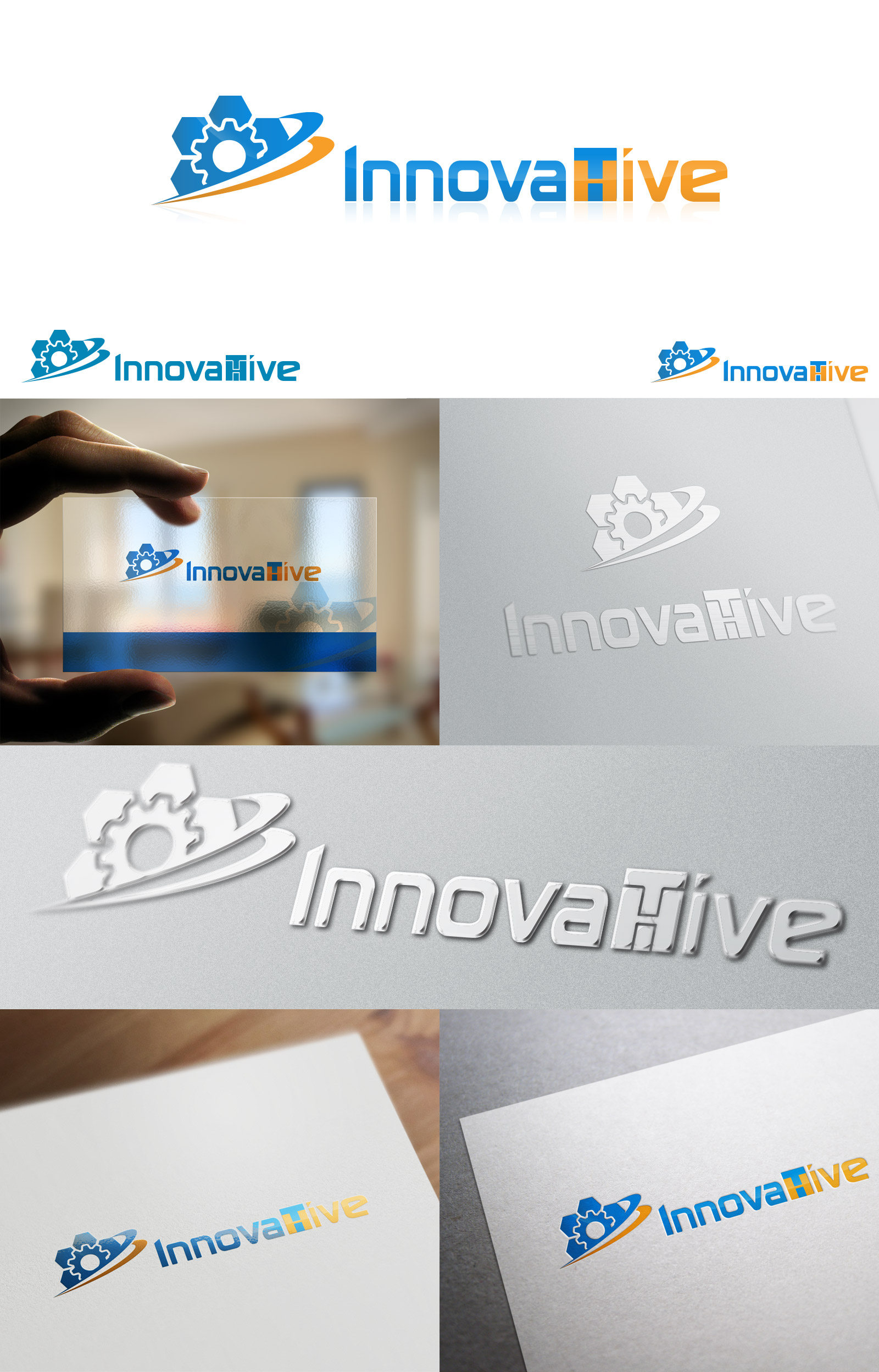 Logo Design by olii - Entry No. 134 in the Logo Design Contest InnovaHive Logo Design.