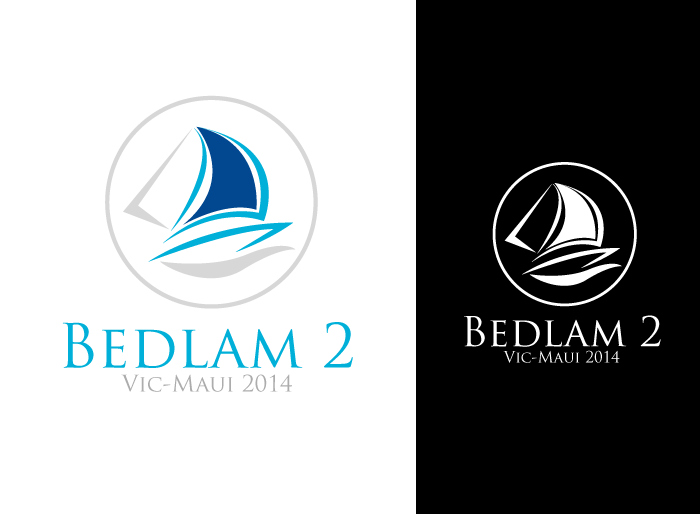 Logo Design by Jan Chua - Entry No. 5 in the Logo Design Contest Artistic Logo Design for Bedlam 2  Vic-Maui 2014.