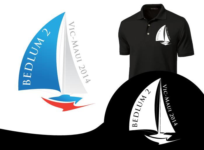 Logo Design by Jan Chua - Entry No. 7 in the Logo Design Contest Artistic Logo Design for Bedlam 2  Vic-Maui 2014.