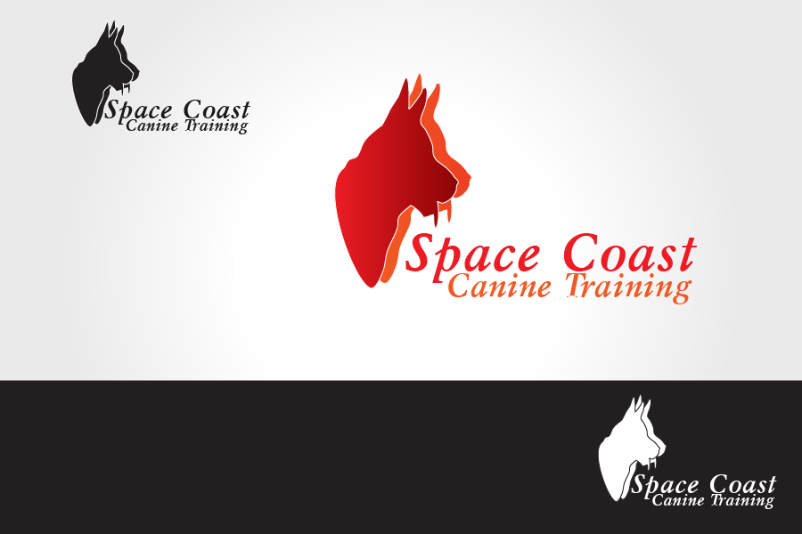 Logo Design by Private User - Entry No. 1 in the Logo Design Contest Creative Logo Design for Space Coast Canine Training.