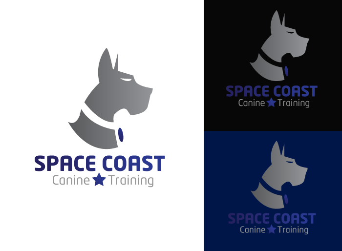 Logo Design by Jan Chua - Entry No. 5 in the Logo Design Contest Creative Logo Design for Space Coast Canine Training.