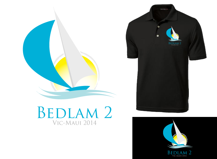 Logo Design by Jan Chua - Entry No. 10 in the Logo Design Contest Artistic Logo Design for Bedlam 2  Vic-Maui 2014.
