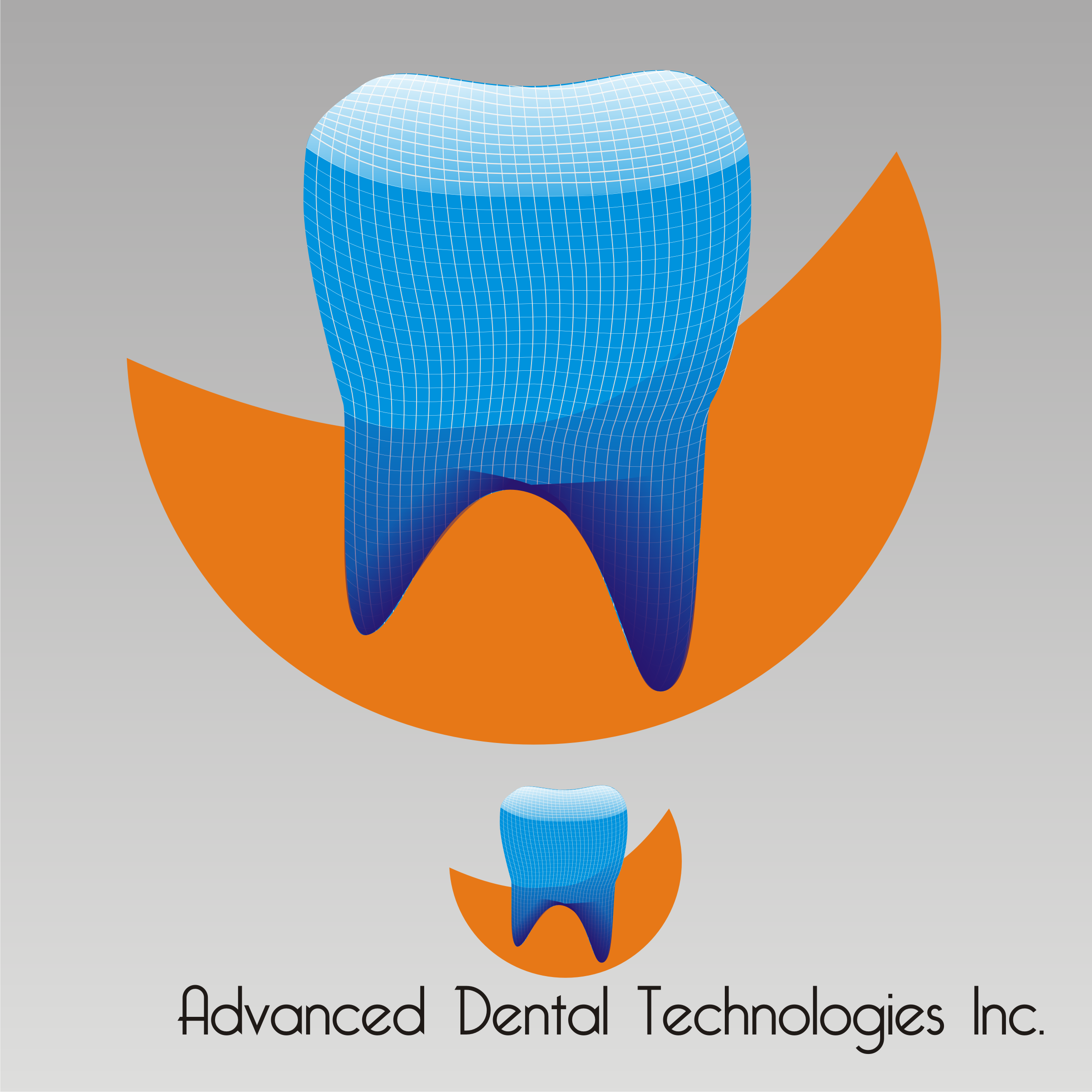 Logo Design by Private User - Entry No. 80 in the Logo Design Contest Fun Logo Design for Advanced Dental Technologies Inc..