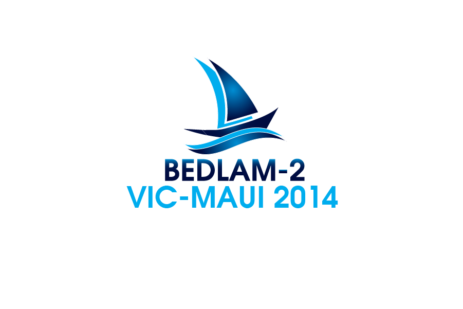 Logo Design by Private User - Entry No. 11 in the Logo Design Contest Artistic Logo Design for Bedlam 2  Vic-Maui 2014.