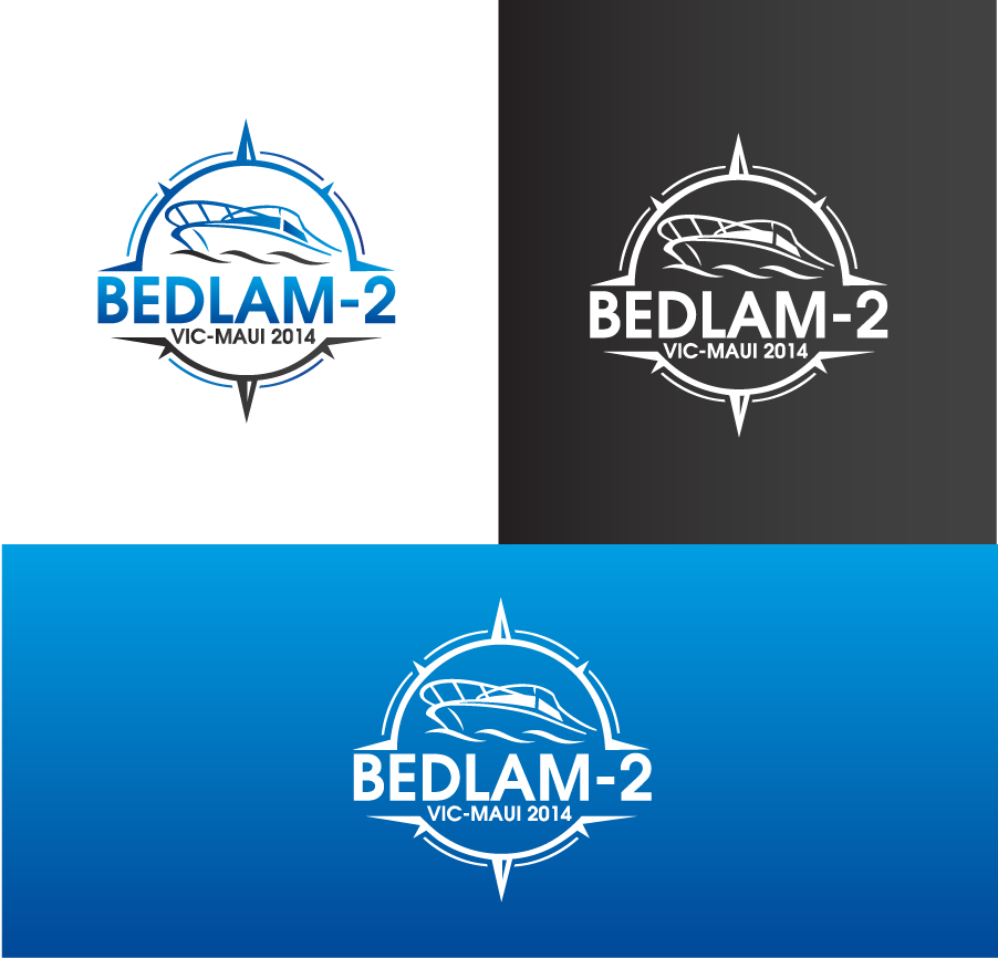 Logo Design by Private User - Entry No. 13 in the Logo Design Contest Artistic Logo Design for Bedlam 2  Vic-Maui 2014.