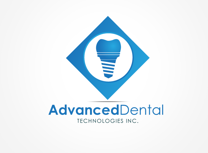 Logo Design by Jan Chua - Entry No. 81 in the Logo Design Contest Fun Logo Design for Advanced Dental Technologies Inc..