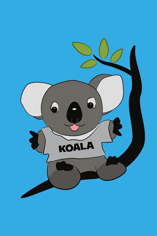 "Logo Design by iwyn - Entry No. 9 in the Logo Design Contest Imaginative Logo Design for ""Koala""."