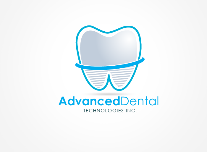 Logo Design by Jan Chua - Entry No. 82 in the Logo Design Contest Fun Logo Design for Advanced Dental Technologies Inc..