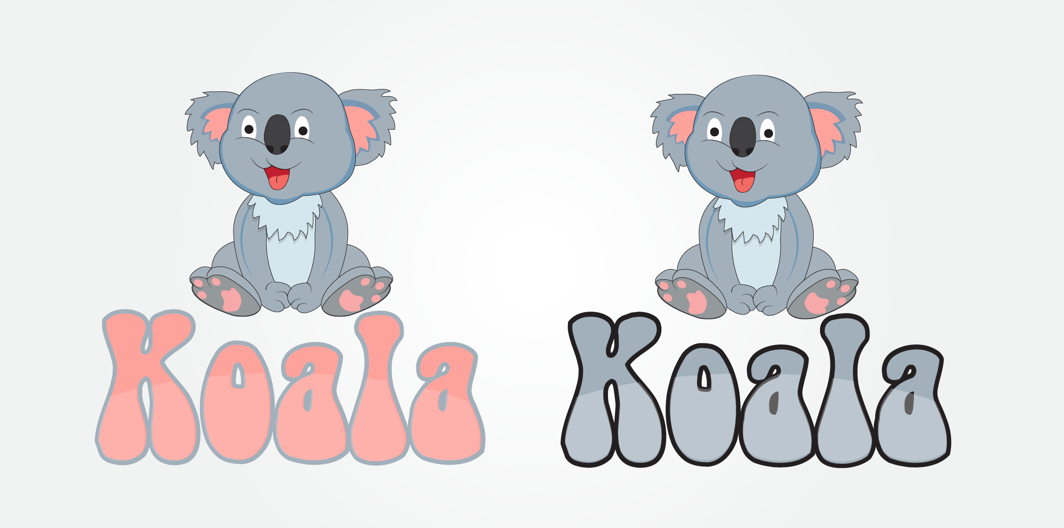 "Logo Design by mediaproductionart - Entry No. 10 in the Logo Design Contest Imaginative Logo Design for ""Koala""."