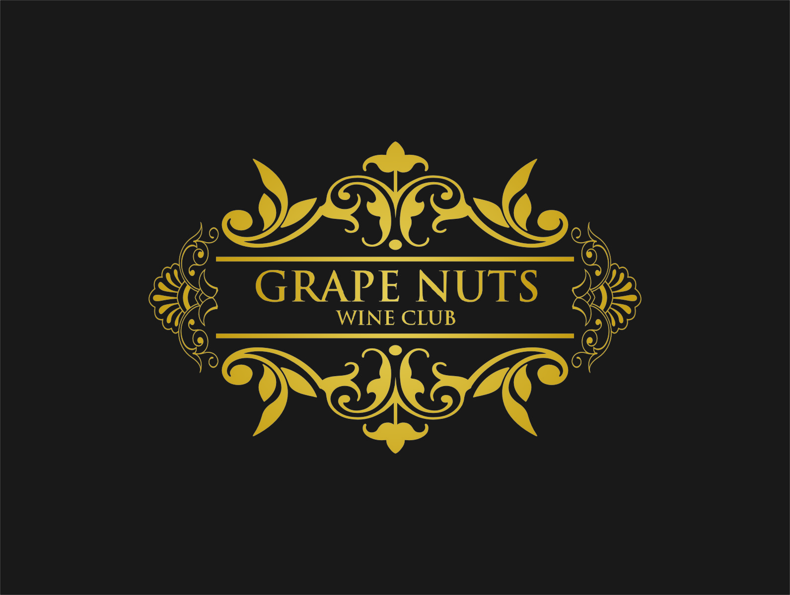 Logo Design by RasYa Muhammad Athaya - Entry No. 7 in the Logo Design Contest Artistic Logo Design for Grape Nuts Wine Club.
