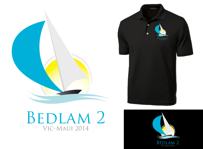 Logo Design by Jan Chua - Entry No. 14 in the Logo Design Contest Artistic Logo Design for Bedlam 2  Vic-Maui 2014.