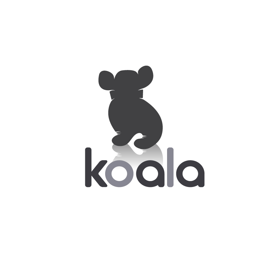"Logo Design by danelav - Entry No. 22 in the Logo Design Contest Imaginative Logo Design for ""Koala""."
