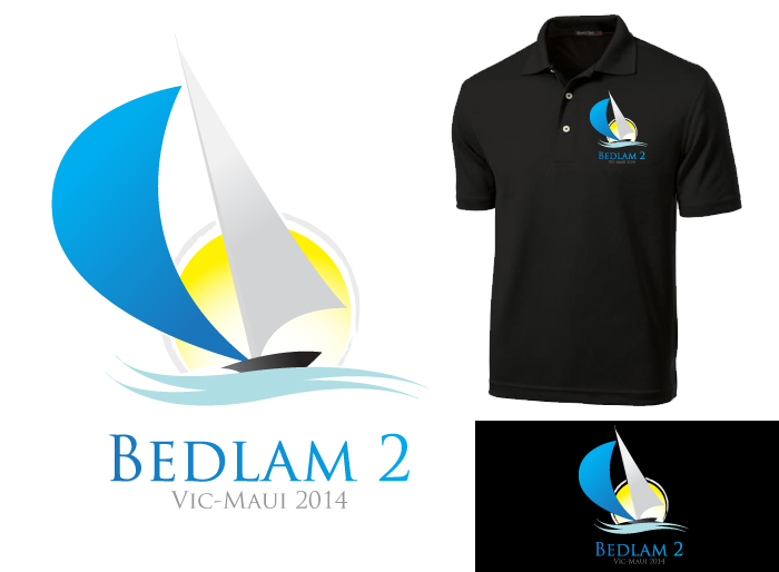 Logo Design by Jan Chua - Entry No. 15 in the Logo Design Contest Artistic Logo Design for Bedlam 2  Vic-Maui 2014.