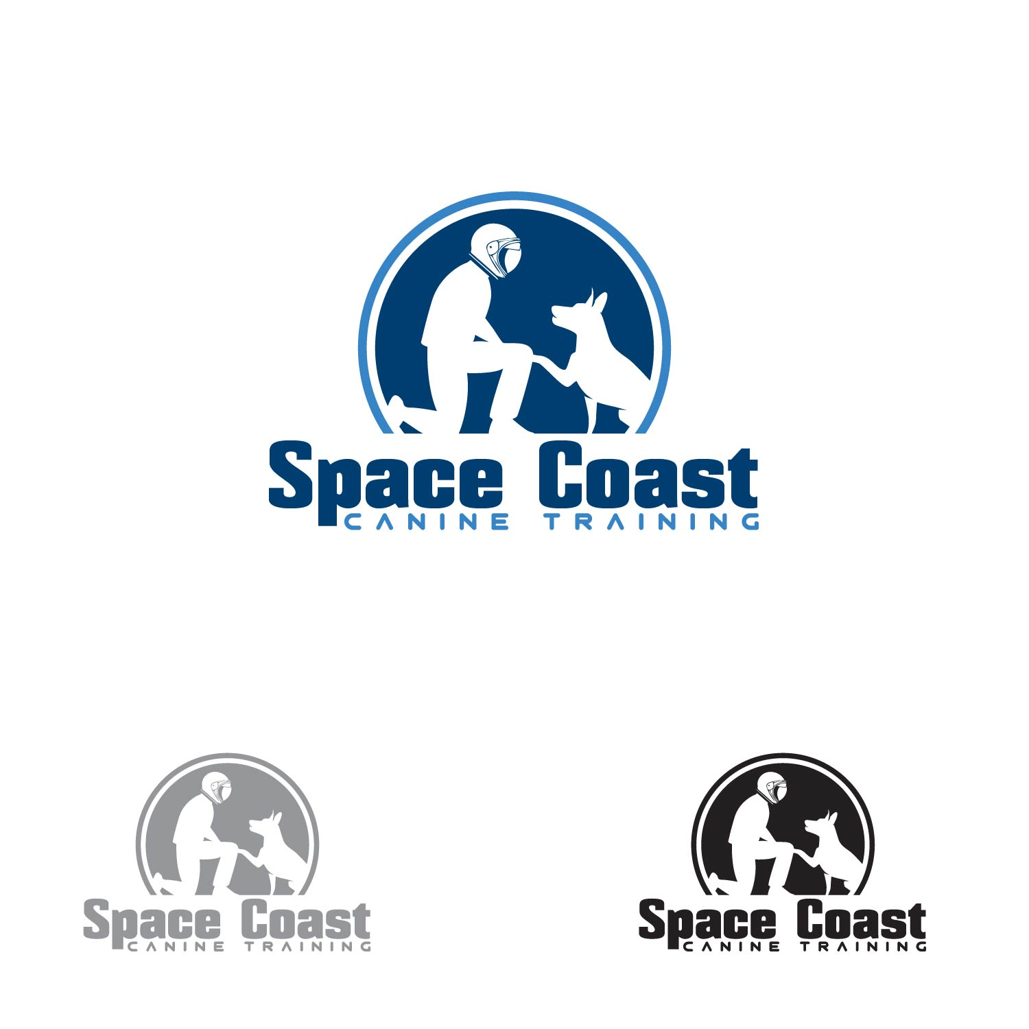 Logo Design by lagalag - Entry No. 12 in the Logo Design Contest Creative Logo Design for Space Coast Canine Training.