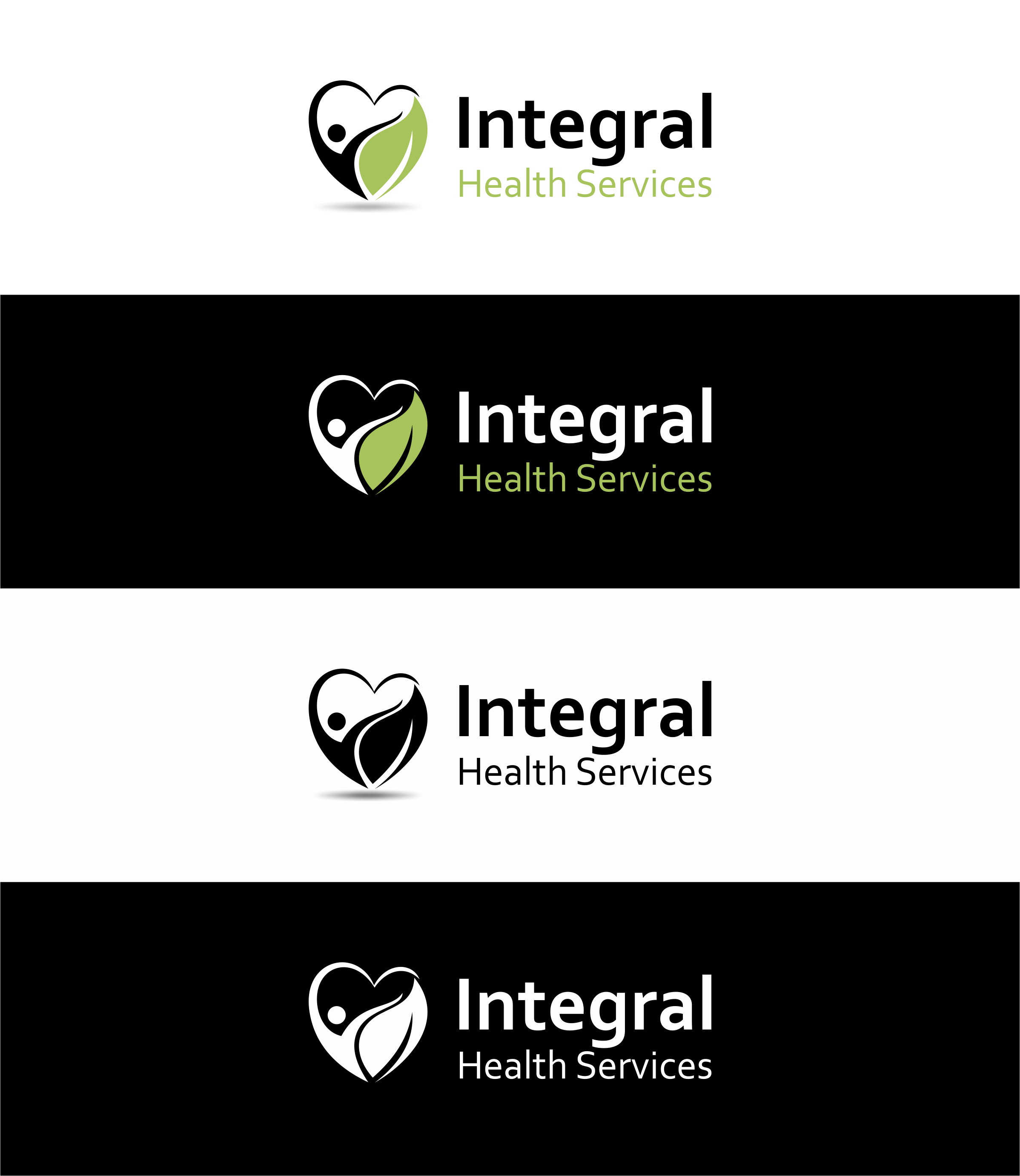 Logo Design by Muhammad Aslam - Entry No. 23 in the Logo Design Contest Unique Logo Design Wanted for Integral Health Systems.