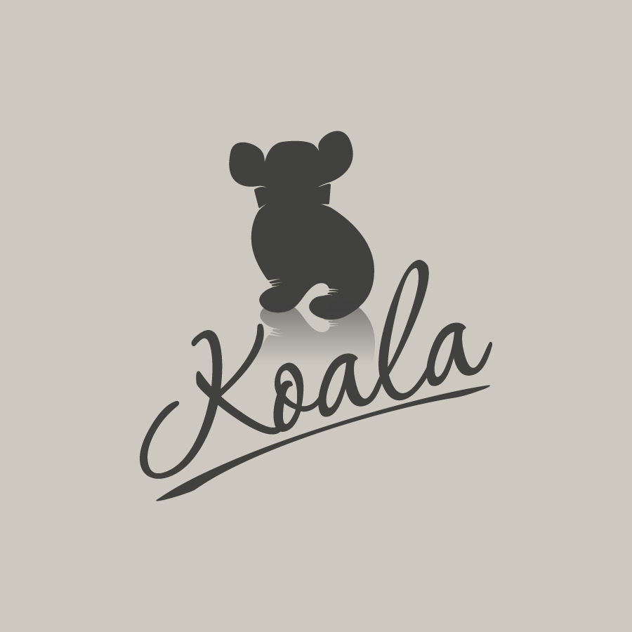 "Logo Design by danelav - Entry No. 23 in the Logo Design Contest Imaginative Logo Design for ""Koala""."