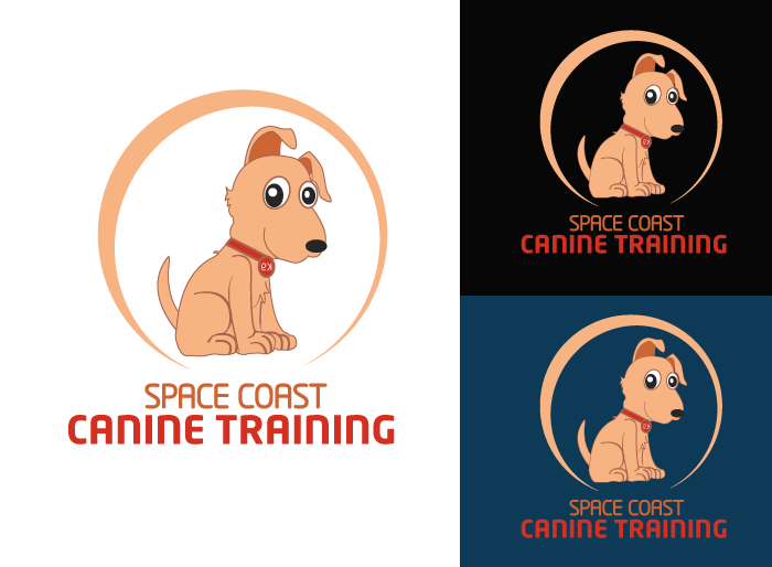Logo Design by Jan Chua - Entry No. 14 in the Logo Design Contest Creative Logo Design for Space Coast Canine Training.