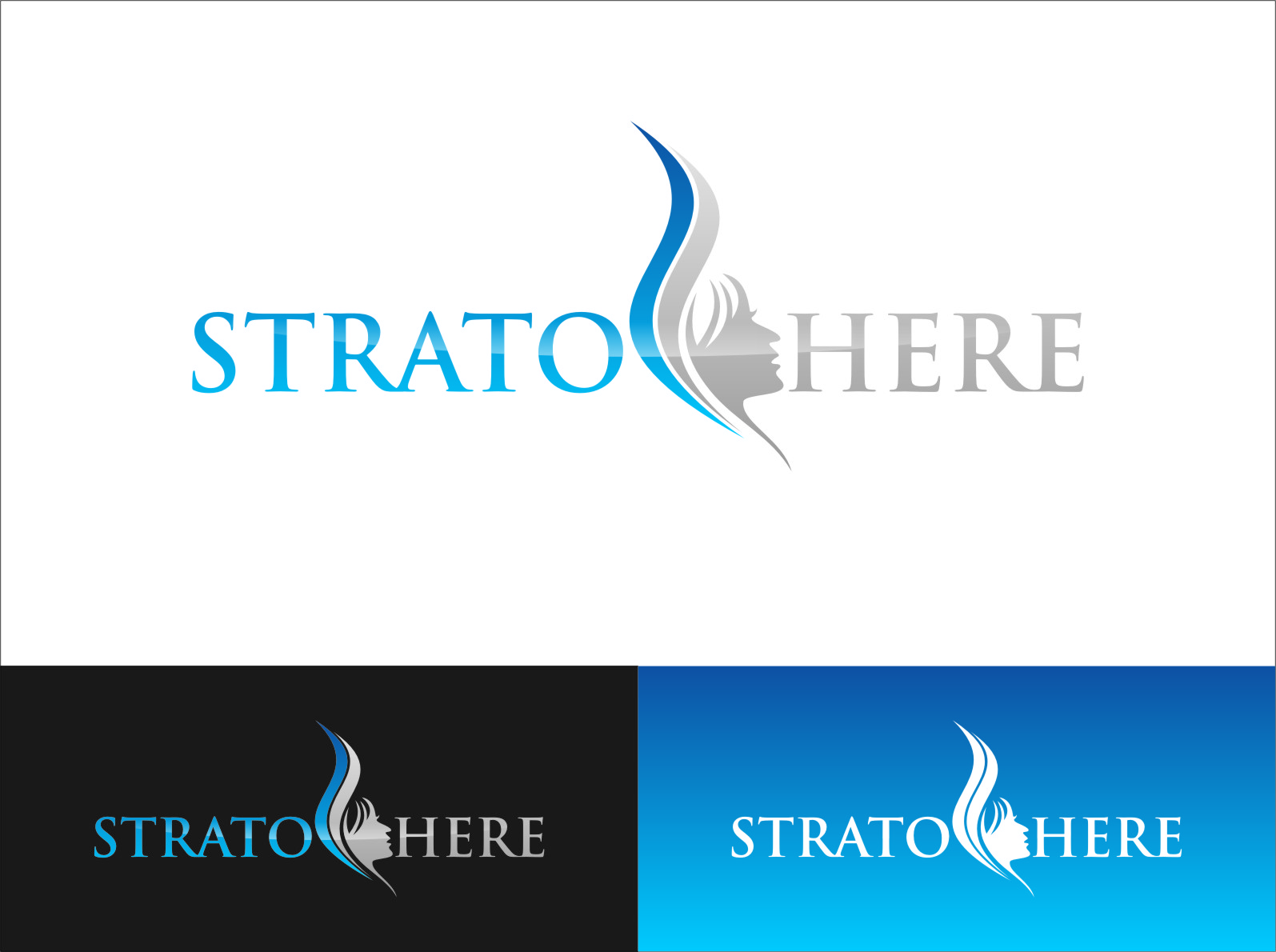 Logo Design by Ngepet_art - Entry No. 1 in the Logo Design Contest Captivating Logo Design for Stratosphere.
