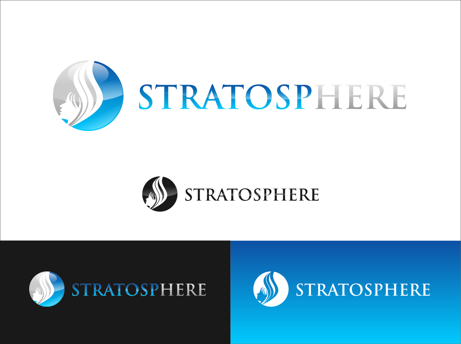 Logo Design by RasYa Muhammad Athaya - Entry No. 2 in the Logo Design Contest Captivating Logo Design for Stratosphere.