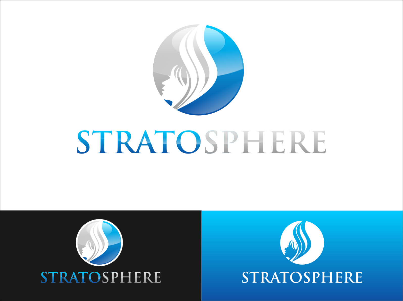 Logo Design by Ngepet_art - Entry No. 3 in the Logo Design Contest Captivating Logo Design for Stratosphere.