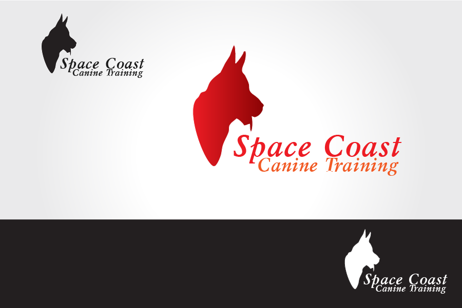 Logo Design by Private User - Entry No. 17 in the Logo Design Contest Creative Logo Design for Space Coast Canine Training.
