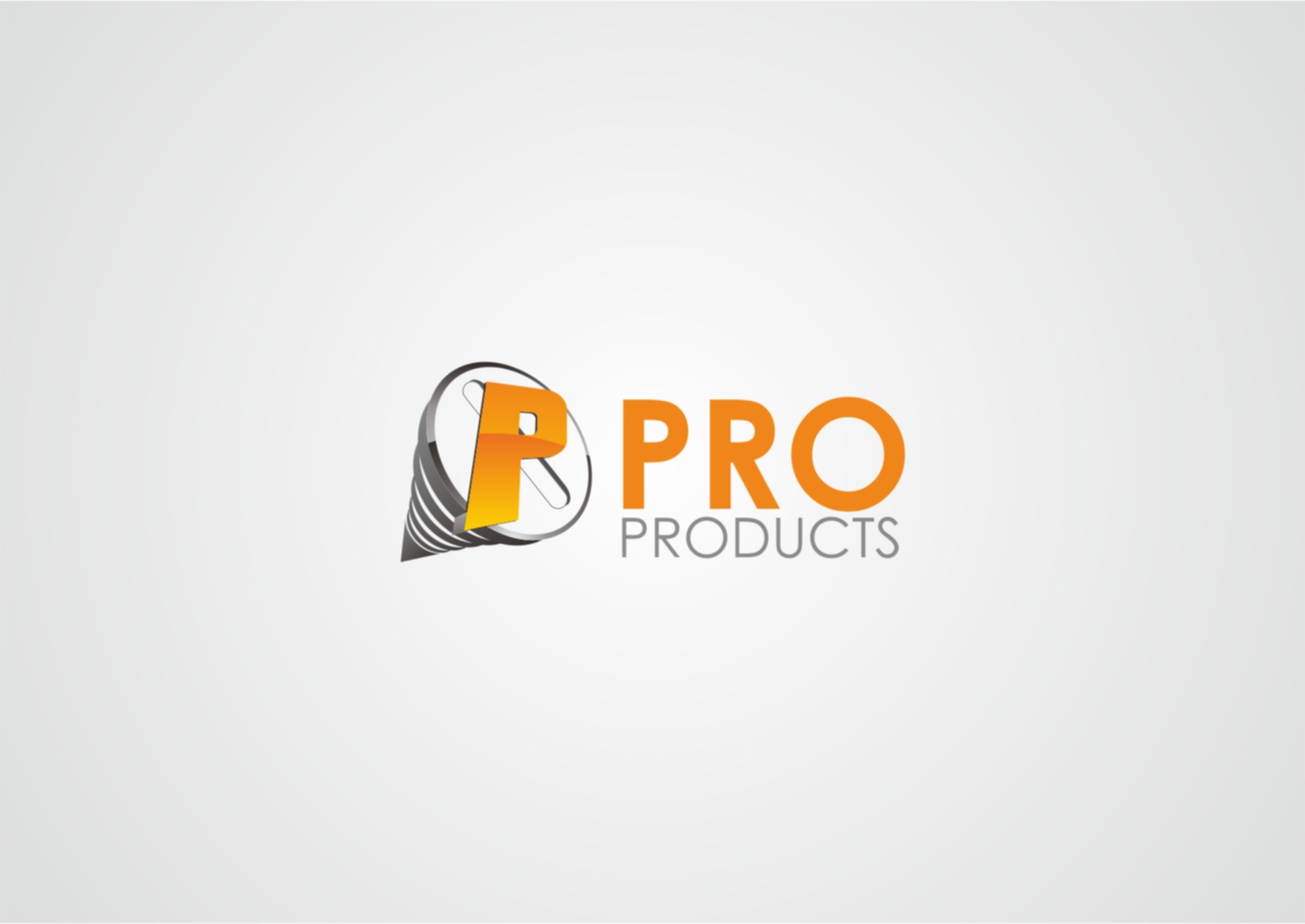 Logo Design by Private User - Entry No. 72 in the Logo Design Contest Fun yet Professional Logo Design for ProProducts.