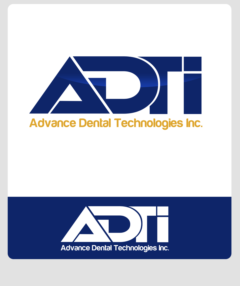 Logo Design by Robert Turla - Entry No. 104 in the Logo Design Contest Fun Logo Design for Advanced Dental Technologies Inc..