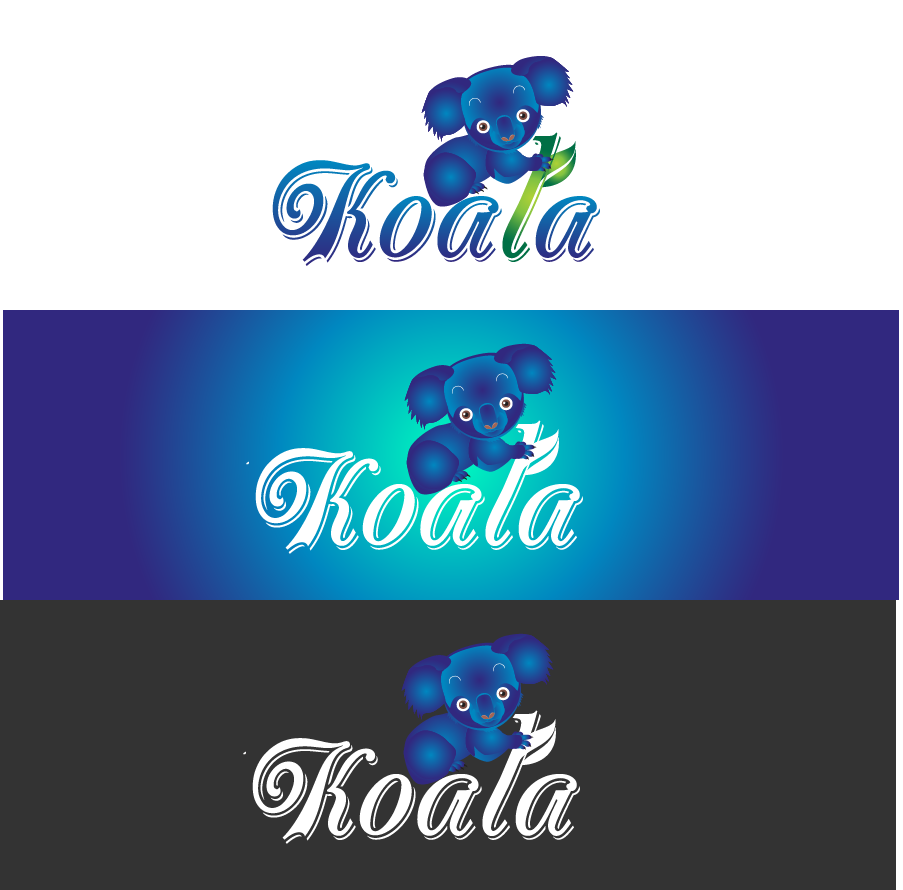 "Logo Design by Private User - Entry No. 33 in the Logo Design Contest Imaginative Logo Design for ""Koala""."