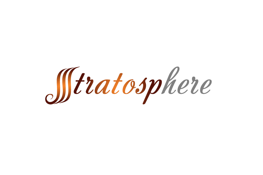 Logo Design by Private User - Entry No. 6 in the Logo Design Contest Captivating Logo Design for Stratosphere.