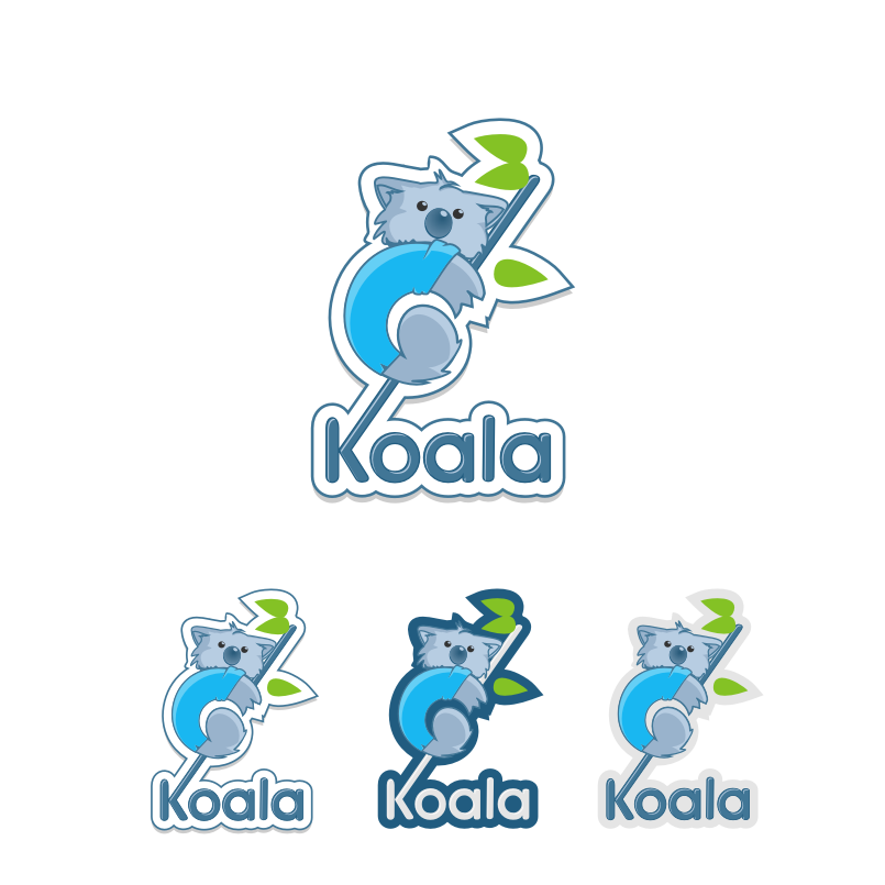"Logo Design by graphicleaf - Entry No. 34 in the Logo Design Contest Imaginative Logo Design for ""Koala""."