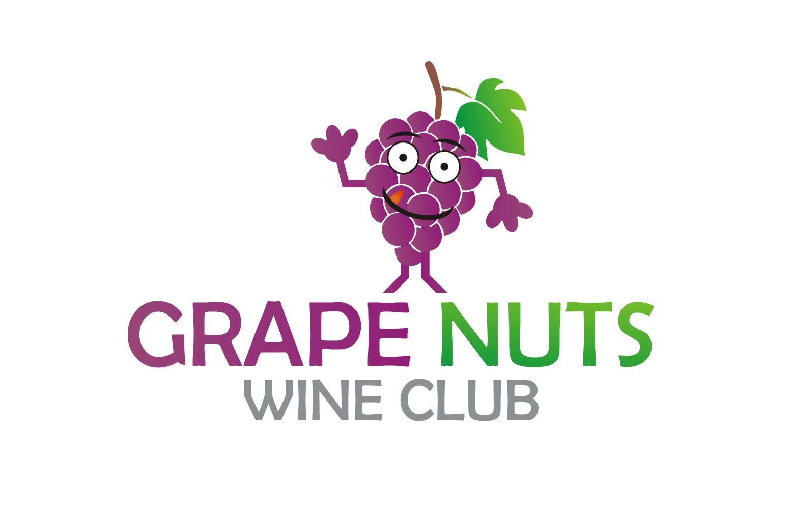 Logo Design by Yuda Hermawan - Entry No. 19 in the Logo Design Contest Artistic Logo Design for Grape Nuts Wine Club.