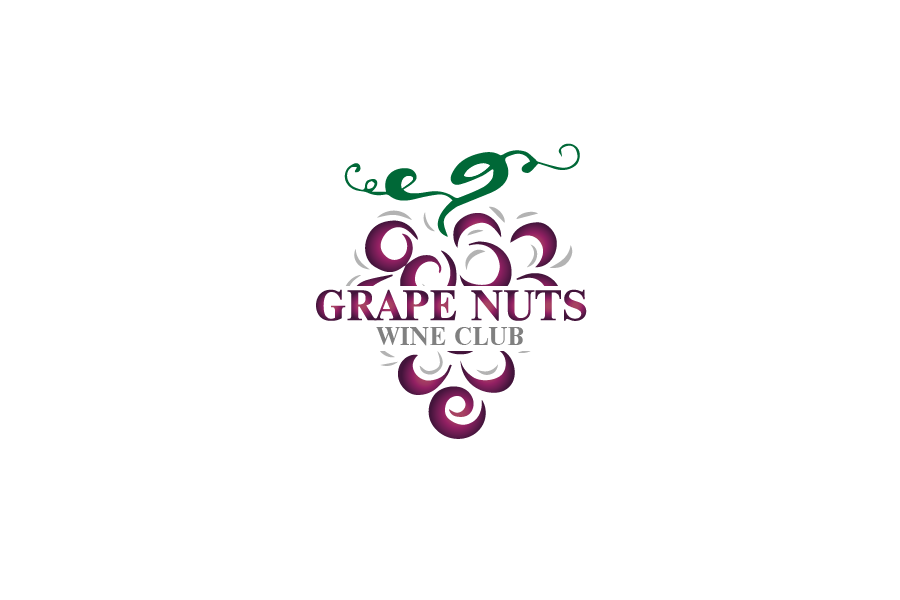 Logo Design by Private User - Entry No. 20 in the Logo Design Contest Artistic Logo Design for Grape Nuts Wine Club.