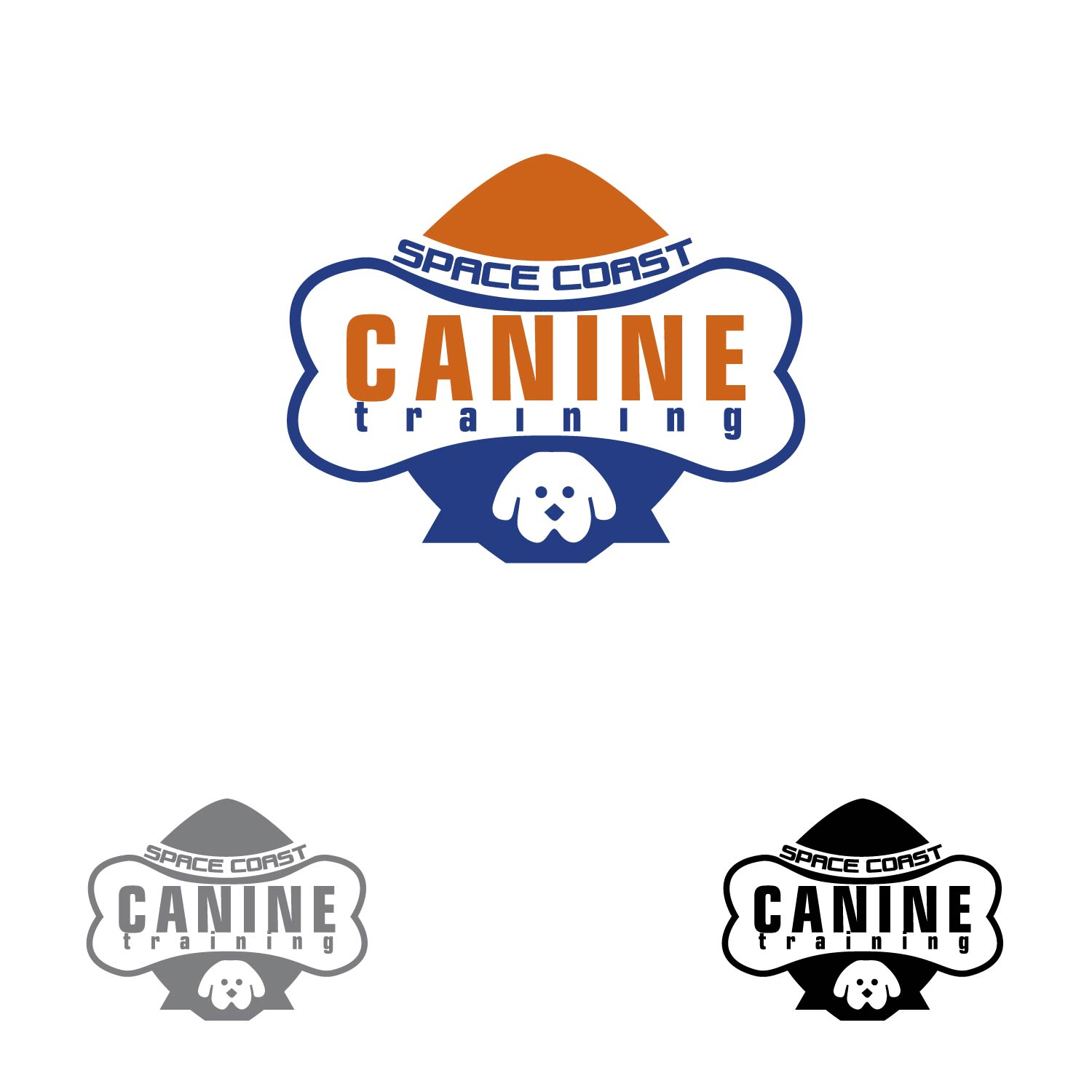 Logo Design by lagalag - Entry No. 19 in the Logo Design Contest Creative Logo Design for Space Coast Canine Training.