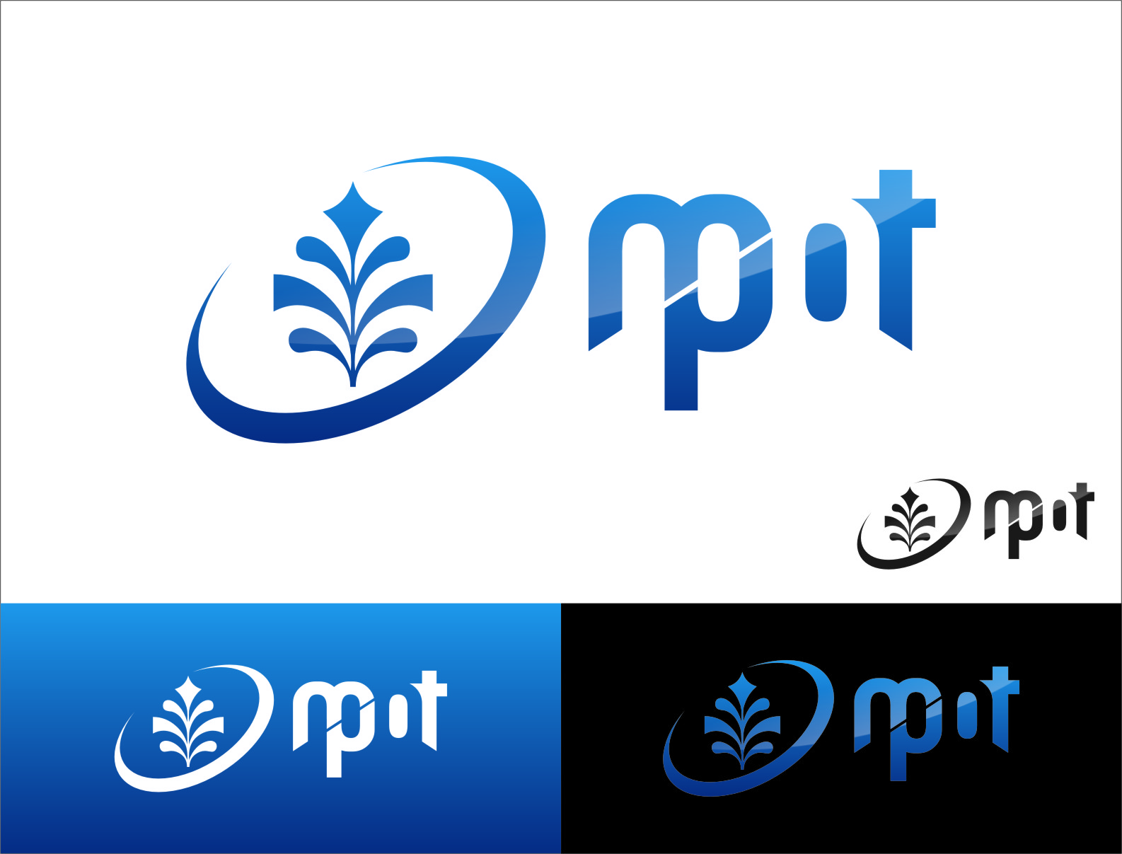 Logo Design by Ngepet_art - Entry No. 191 in the Logo Design Contest Mpot inc  Logo Design.
