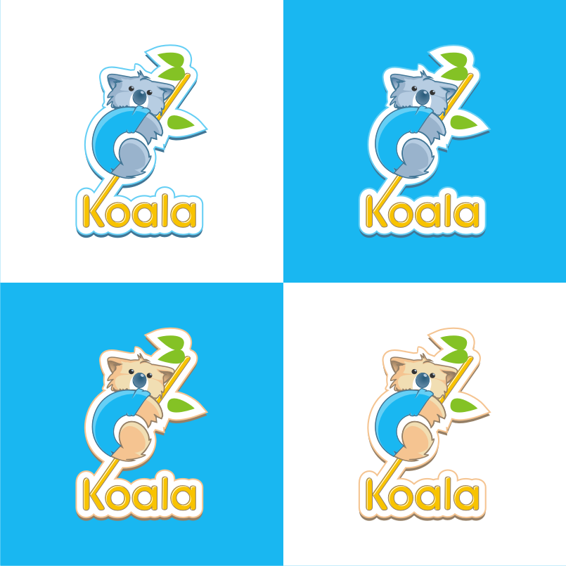 "Logo Design by graphicleaf - Entry No. 37 in the Logo Design Contest Imaginative Logo Design for ""Koala""."
