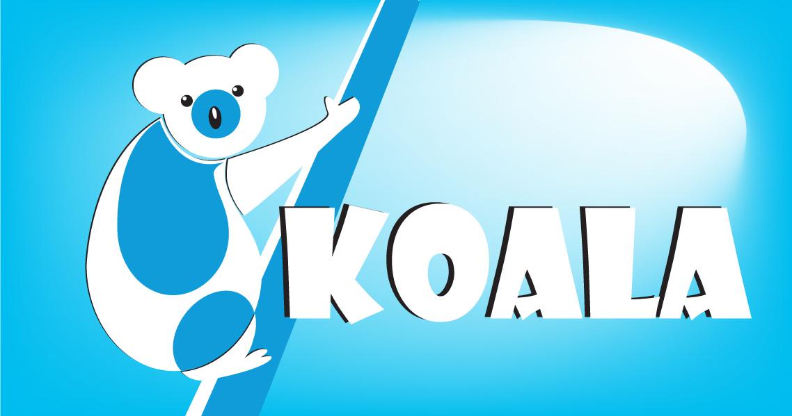 "Logo Design by Private User - Entry No. 38 in the Logo Design Contest Imaginative Logo Design for ""Koala""."