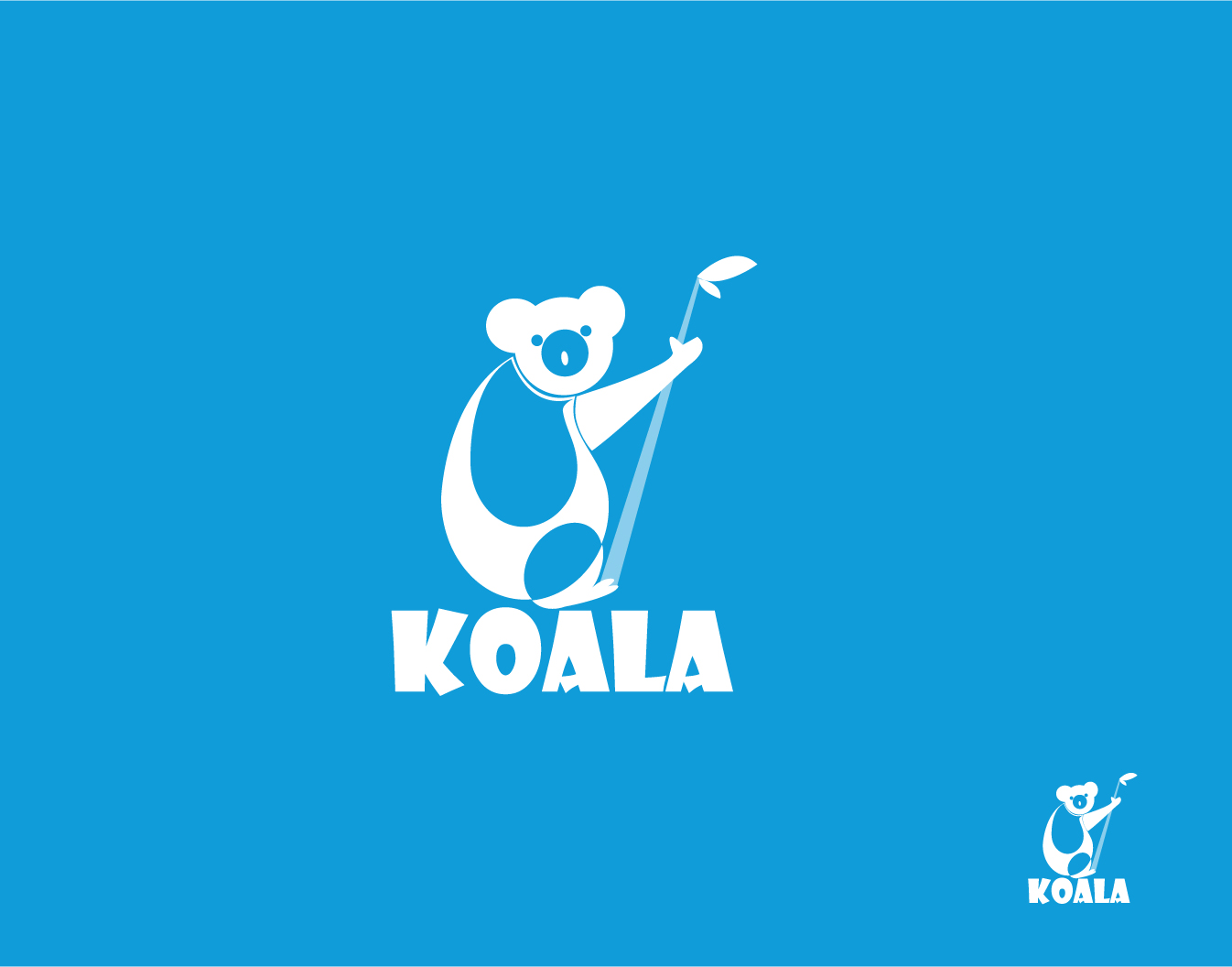 "Logo Design by Private User - Entry No. 39 in the Logo Design Contest Imaginative Logo Design for ""Koala""."