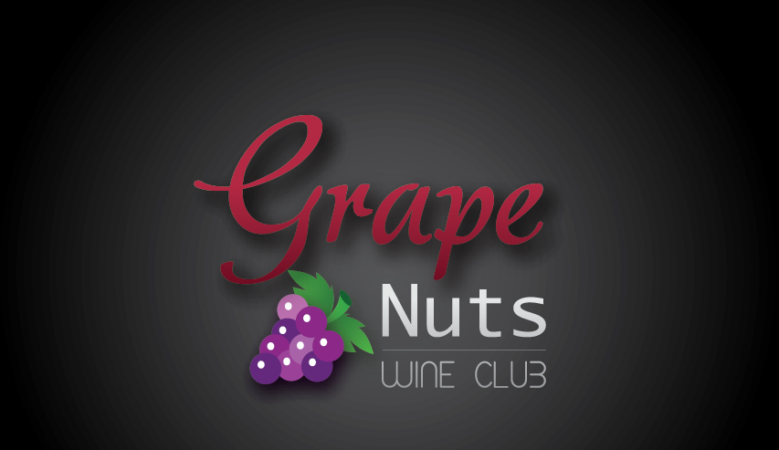 Logo Design by mediaproductionart - Entry No. 26 in the Logo Design Contest Artistic Logo Design for Grape Nuts Wine Club.