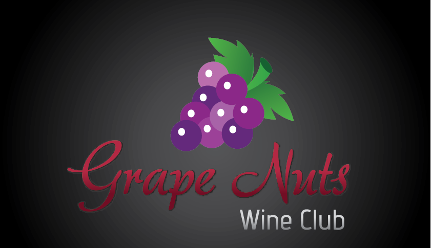 Logo Design by mediaproductionart - Entry No. 27 in the Logo Design Contest Artistic Logo Design for Grape Nuts Wine Club.