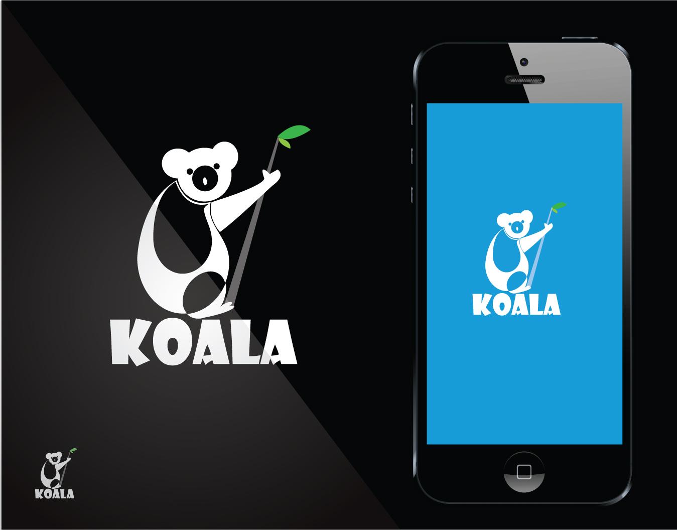 "Logo Design by Private User - Entry No. 40 in the Logo Design Contest Imaginative Logo Design for ""Koala""."