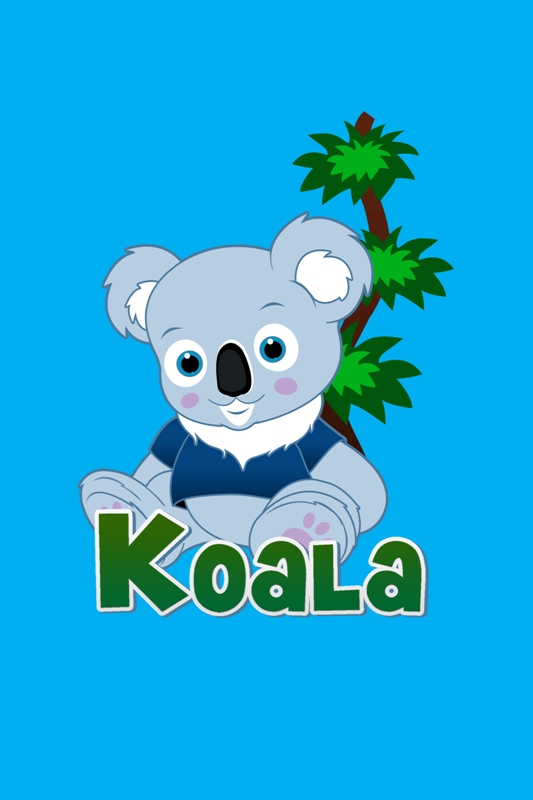 "Logo Design by Juan_Kata - Entry No. 41 in the Logo Design Contest Imaginative Logo Design for ""Koala""."