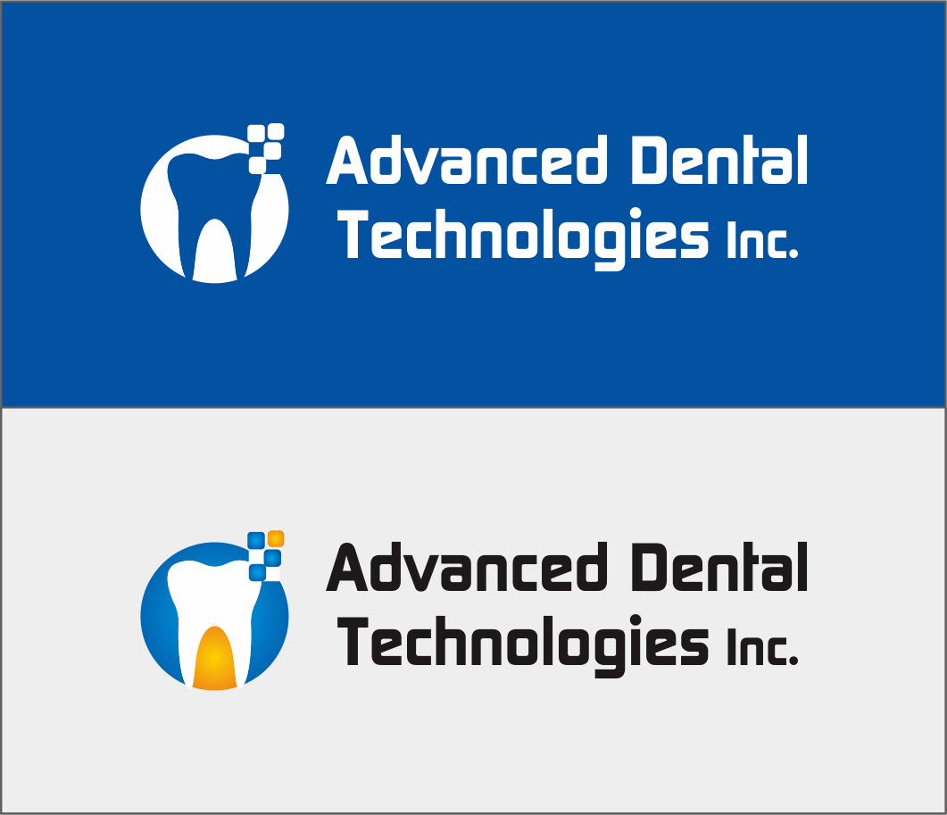 Logo Design by Armada Jamaluddin - Entry No. 129 in the Logo Design Contest Fun Logo Design for Advanced Dental Technologies Inc..