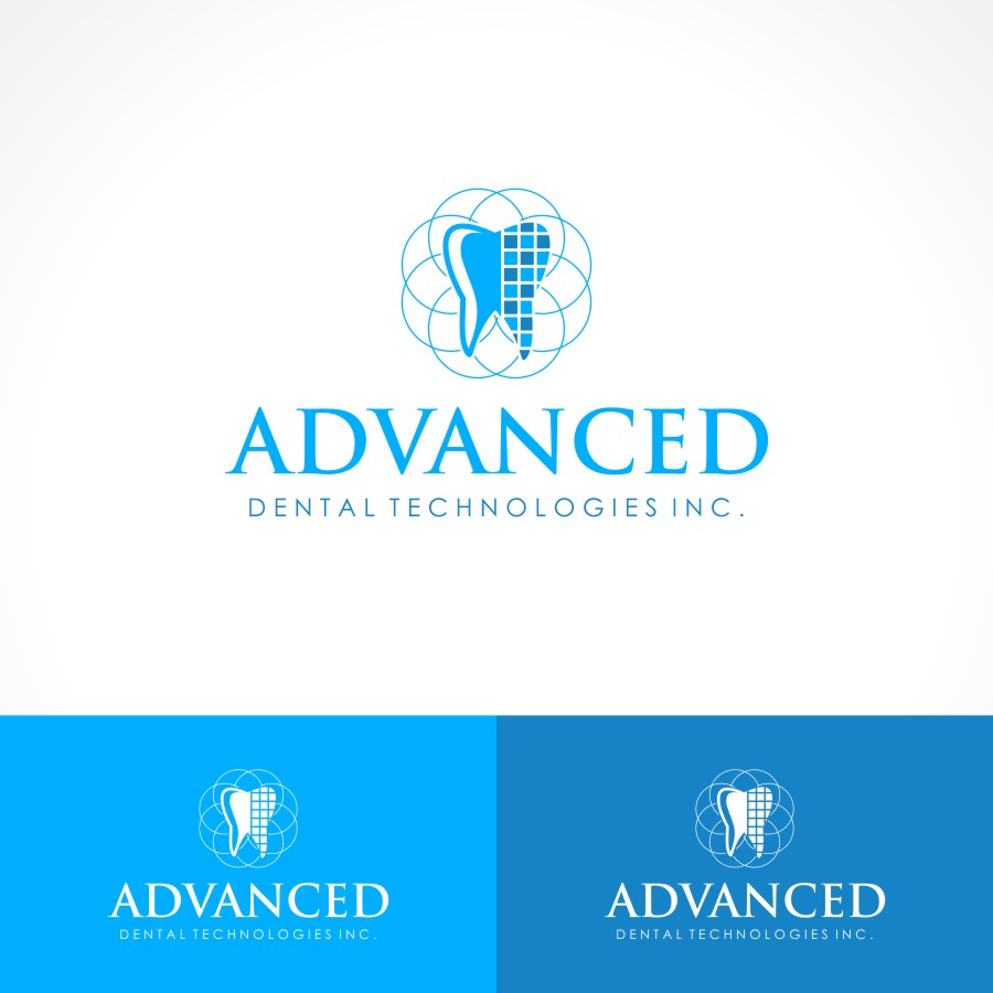 Logo Design by Private User - Entry No. 130 in the Logo Design Contest Fun Logo Design for Advanced Dental Technologies Inc..