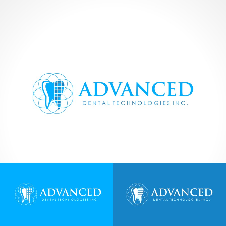 Logo Design by Private User - Entry No. 131 in the Logo Design Contest Fun Logo Design for Advanced Dental Technologies Inc..
